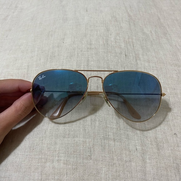 Raybans gradient sunglasses